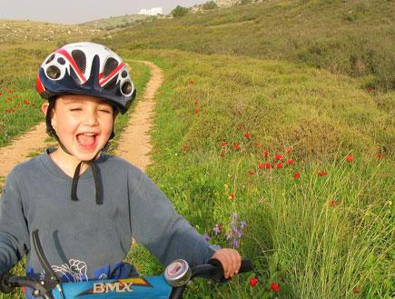 טיול אופניים עם הילדים