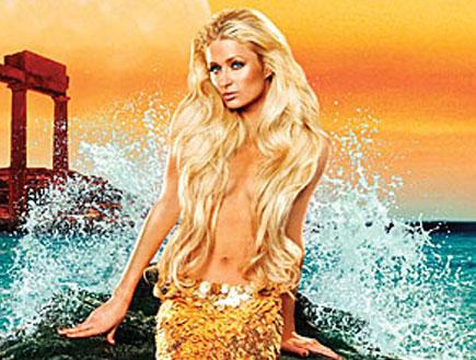 """פריס הילטון במודעת פרסומת לבושם החדש """"siren"""""""