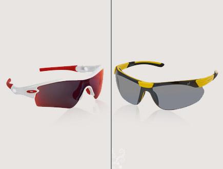 משקפי שמש לגברים- ספורטיביים (יח``צ: יחסי ציבור)