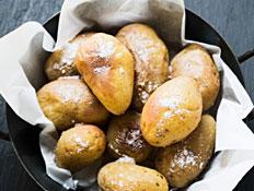 תפוחי אדמה צלויים במחבת