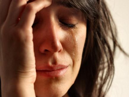 הריונית בוכה(istockphoto)