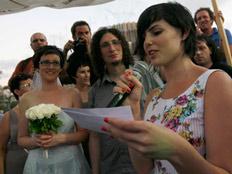 שפרה בחתונה של אולגה וניקו