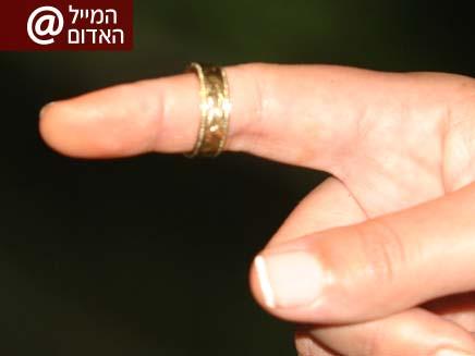 אבדה טבעת נישואין (צילום: יפעת גיא)