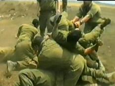 החייל הוכה עד שדימם. אילוסטרציה