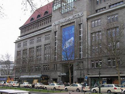 כלבו יוקרתי בברלין: KaDeWe