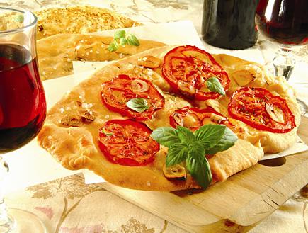 בצק לפיצה ופוקאצ'ה