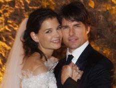 החתונה של תום קרוז וקייטי הומלס