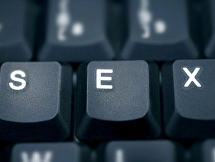 מקשי מקלדת עם המילה סקס (צילום: istockphoto)