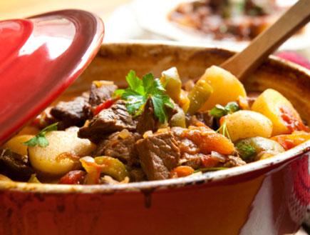 נזיד בשר וירקות- מרקים ונזידים (צילום: istockphoto ,istockphoto)