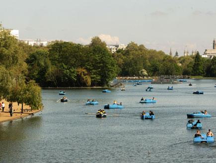 לונדון: הייד פארק