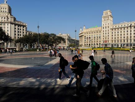 פלאזה קטאלוניה בברצלונה