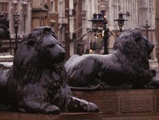 לונדון: כיכר טראפלגר