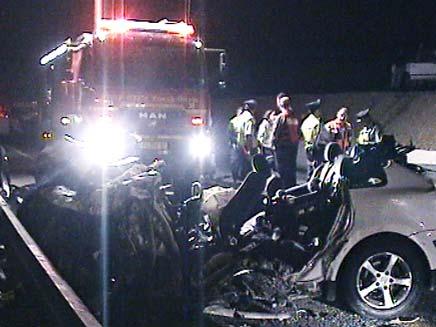 תאונה קטלנית בצפון (צילום: חדשות 2)