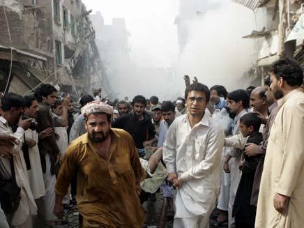 הטרור שוב מכה בפקיסטן. ארכיון (צילום: AP)