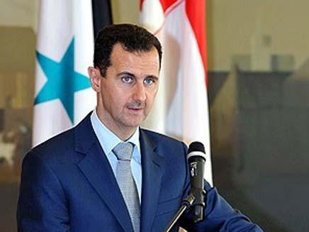 במרכז השיחות בכל זאת, הנשיא אסד (צילום: סוכנות הידיעות הסורית)