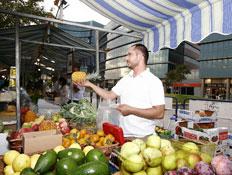 שוק האיכרים - פירות וירקות