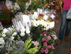 שוק האיכרים - פרחים