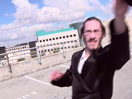 חרדים מתפרעים מול מפעל אינטל בירושלים (צילום: חדשות 2)