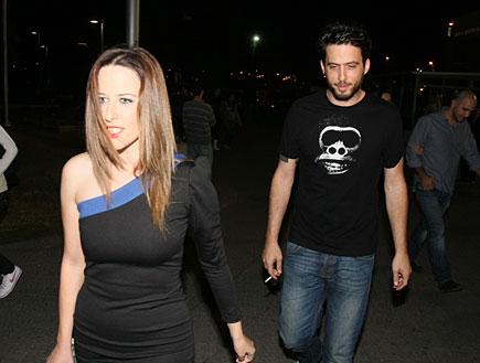 מסיבת 9 שנים לחדשות ערוץ 2 - יונית לוי ועידו רוזנב (צילום: אלעד דיין ,mako)