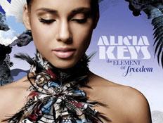 אלישיה קיז, עטיפת אלבום, The element of freedom