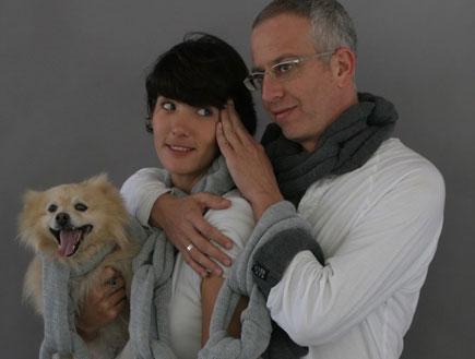 אורי גוטליב והחברה חן יאני (צילום: באדיבות אתר layla.co.il - צילום: ג'קי יעקב ,mako)