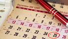 לוח שנה עברי (צילום: istockphoto)