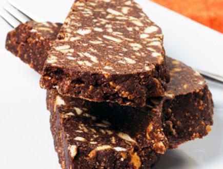 נקניק שוקולד (צילום: istockphoto ,istockphoto)