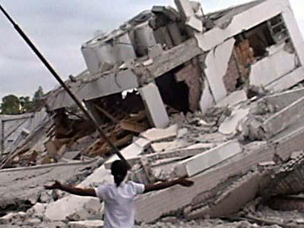 ניצולים מרעידת האדמה בהאיטי