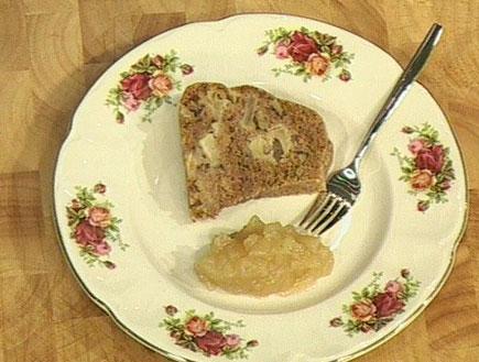 עוגת תפוחים וקלוודוס