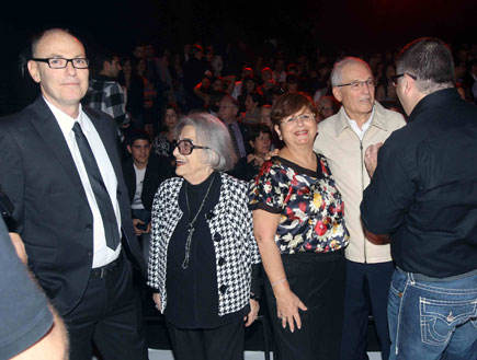 תצוגת אופנה קסטרו - משפחת רוטר