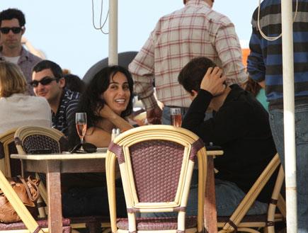 ריטה ורונן ברגמן, פפראצי בנמל תל אביב 3 (צילום: אלעד דיין ,mako)