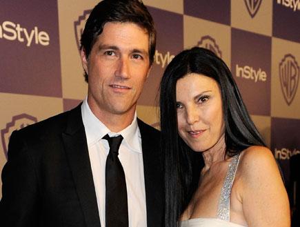 מת'יו פוקס ואשתו (צילום: אימג'בנק/GettyImages ,getty images)
