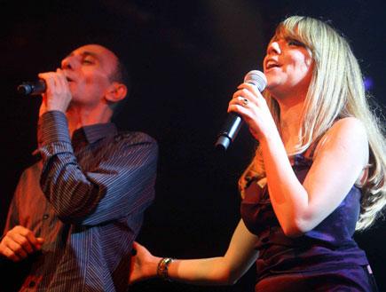 שירי מימון ושמעון בוסקילה (צילום: עודד קרני ,mako)