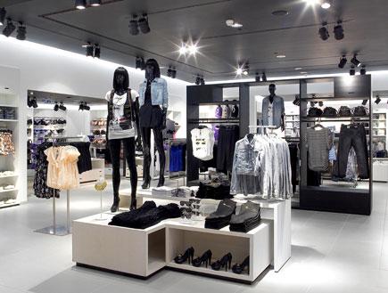 הסניף הראשון של H&M בעזריאלי תל אביב