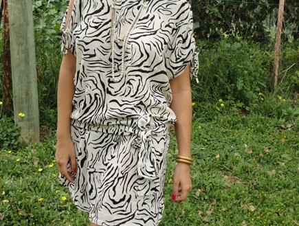 שמלת זברה