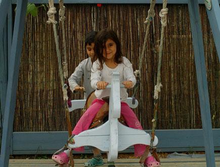 טיול עם ילדים: סוס ועגלה במושב קדימה (צילום: שירלי אהרון)