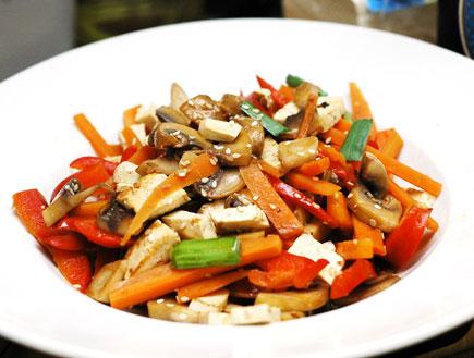ירקות מוקפצים (צילום: עמרי אנדרס צורף ,mako)