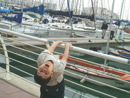 יום כיף: ילד בקניון ארנה