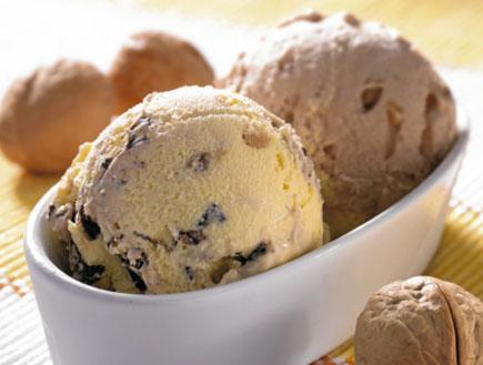 שני כדורי גלידה (צילום: istockphoto ,istockphoto)