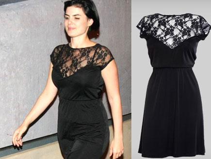 שיפרה קורנפלד ושמלה שחורה - איפה קנית (יח``צ: לין ממרן)