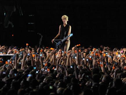 ריהאנה הופעה 30.5.2010 (צילום: אלעד דיין ,mako)