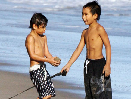 הילדים של בראד ואנג'לינה לקוח מתוך אתר growingyour (צילום: צילום מסך)
