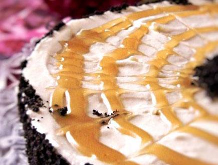 עוגת מוס גבינה ושוקולד לבן (צילום: דליה מאיר ,קסמים מתוקים)