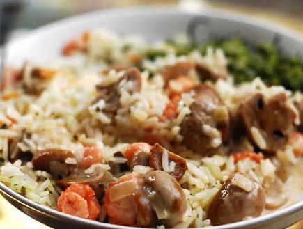 אורז עם שרימפס