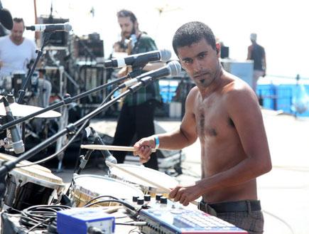 תומר יוסף, בלקן ביט בוקס, מיוזיקס פרייד (צילום: אלירן אביטל)