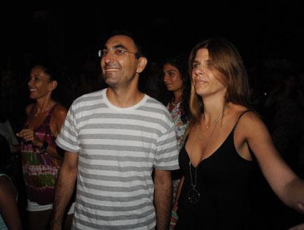 השקה שלומי שבת- ישראל קטורזה ואשתו
