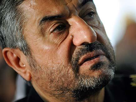 עלי ג'עפרי, מפקד משמרות המהפכה באירן (צילום: חדשות 2)