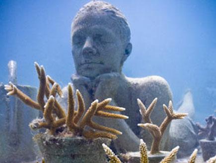 פסלים מתחת למים 5 (צילום: האתר הרשמי)