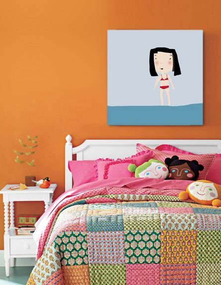 """עיצוב חדרי ילדות טאמוק ילדה על החוף 390 ש""""ח"""