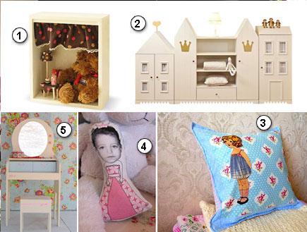 מבחר פריטי עיצוב לחדרי ילדות